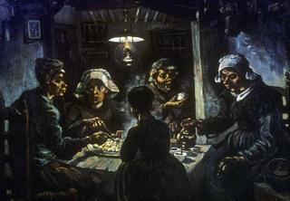 """""""Comedores de batata"""", de Vincent van Gogh, 1885"""