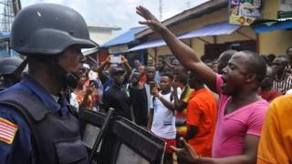 Liberia protest