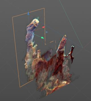 science Pillars of creation