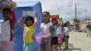 El potente terremoto de abril dejó a decenas de ecuatorianos sin casa.