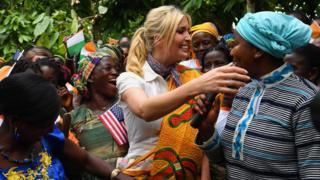 Ivanka Trump with local entrepreneur women - Wednesday 17 April 2019
