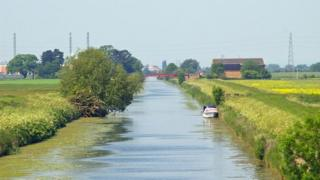 River Ancholme near Hibaldstow