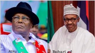 Atiku Abubakar na Muhammadu Buhari