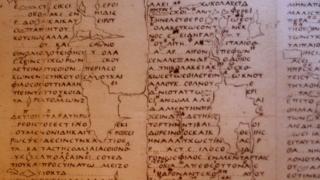 Pergaminho antigo