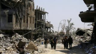 Mji wa Mosul nchini Iraq