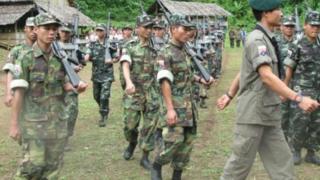 ကေအန်ယူတပ်မဟာ ၅ တပ်ဖွဲ့ဝင်များ