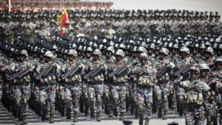 2017년 북한 열병식