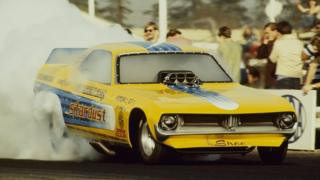 Stardust in the 1973 NHRA Winternationals Drag Race