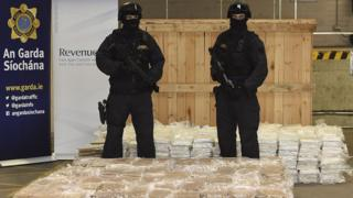 The investigation resulted in the identification and interception of 1,873 kilos (4,129 lbs) of herbal cannabis