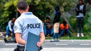 La police est déployée à Calais depuis la crise des migrants.