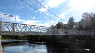 Cambus O'May bridge