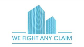 Logo We Fight Any Claim