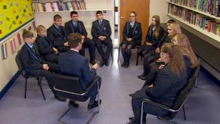 Polish pupil's in Saint Conor's College