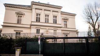 محل اقامتگاه سفیر ایران در وین