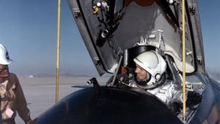 Neil Armstrong in an X-15