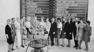 Contestants from the competition in 1963