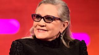 Carrie Fisher a joué le rôle de la Princesse Leia dans les films Star Wars
