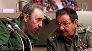 Фідель та Рауль Кастро