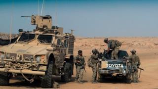 Tentara dukungan AS