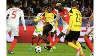 Monaco qui a gagné le match aller 3-2, offre ainsi à la France sa première demi-finale de Ligue des champions depuis 2010.