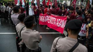 Митинг в Джакарте