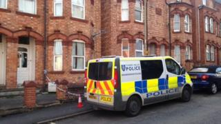 Address were bodies were found in Newland Road