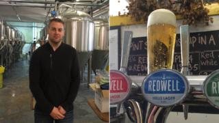 Patrick Fisher and Redwell's Hells Lager