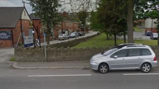 Entrance to Sleep Factory premises in Ossett