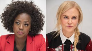 Left to right: Viola Davis and Nicole Kidman
