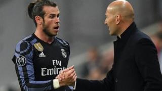 Gareth Bale da Zinedine Zidane