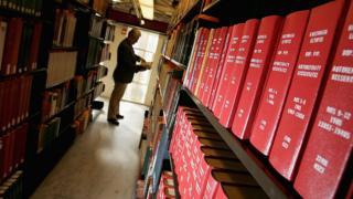 Бібліотека в Оксфорді
