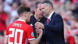 Daniel James a Ryan Giggs