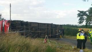 The bus crash