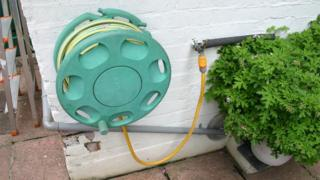 Water hose and tap