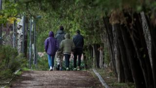 Medical test ordeal for young African migrants in Spain