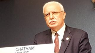 Riad Malki at Chatham House (17/05/19)