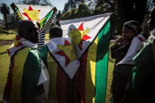 Bendera ya Zimbabwe