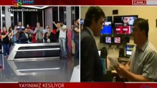 İMC TV polis baskını