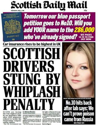 Scottish Daily Mail