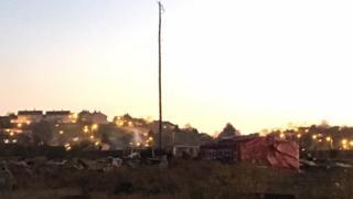 The Kilmacormick Halloween bonfire site
