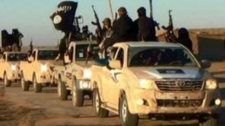 IS militants (file photo)