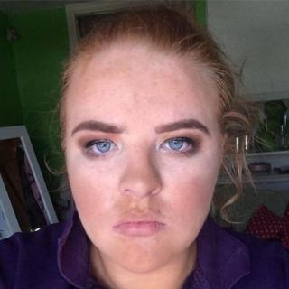 Picture of Shauna after the makeover