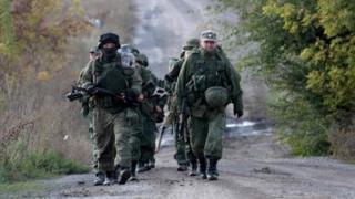 Pro-Russian separatists in Ukraine