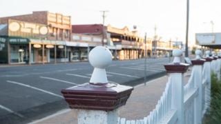 Улица в Шарлевиле, Квинсленд