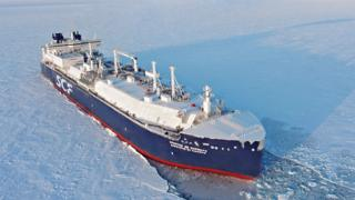 First tanker crosses northern sea route without ice breaker
