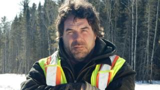 Darrell Ward on Ice Road Truckers