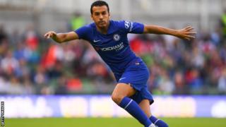 Pedro ya shiga kungiyar Chelsea a 2015