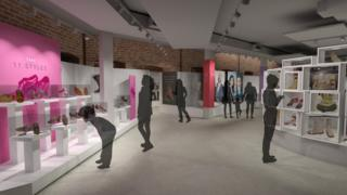 Artist's impression of new Northampton Museum gallery