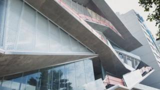 Fachada da nova sede do MIS-RJ