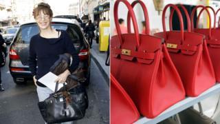 Jane Birkin and Birkin bags